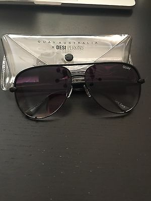 b3fb2b89749 Quay Sunglasses Desi Perkins - High Key - Black Fade - BNIB 100% Authentic