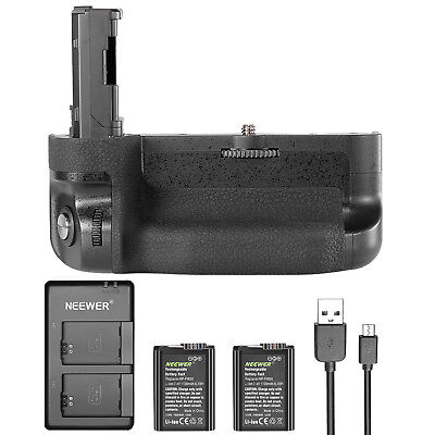 Neewer Vertical Battery Grip Kit for Sony A7 II, A7R II, A7S II