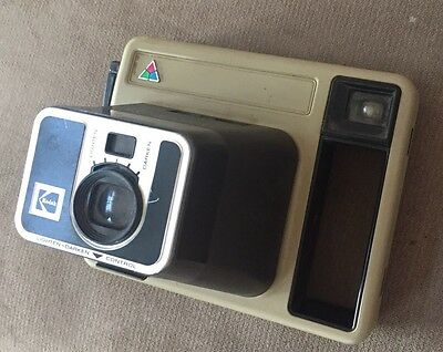 1984 Kodak Pleaser Trimprint Instant Camera Excellent Condition