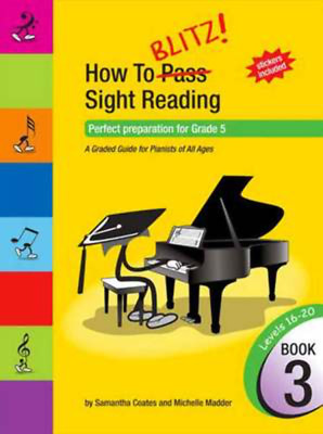 How To Blitz Sight Reading Book 3 - Perfect preparation for Grade 5 - Piano Sama