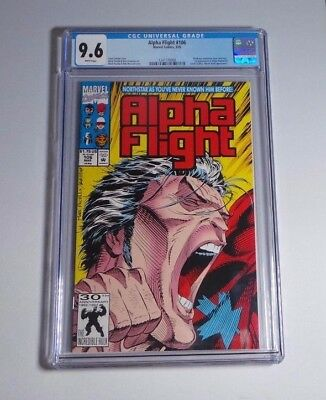Alpha Flight #106 - CGC 9.6 NM+ White Pages - Northstar gay revelation, Mr. Hyde