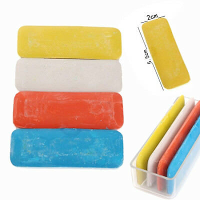 4 Pcs Tailor's Fabric Chalk Dressmaker's Pattern Marking Chalk Sewing Useful