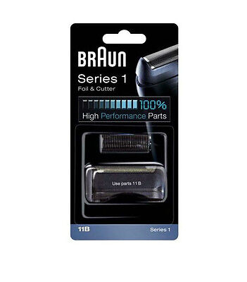 BRAUN 11B Series 1 Shaver Foil & Cutter - Replacement Pack for 110 130 140 150