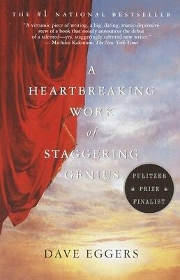 Heartbreaking Work Of Staggering Genius - Dave Eggers (2001, Livre NEU)
