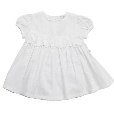 Baby Dress & Brief Set by Plum Precious Clothes White Smock New Girl Size 00