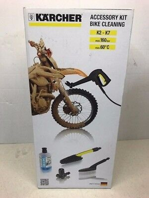 Karcher 2.643-551.0 Bike Cleaning Accessory Kit Fits Karcher From K2 - K7