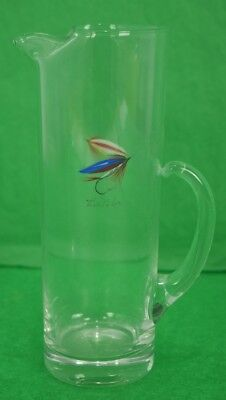 Carwin Trout Fly Hand-Painted Pitcher