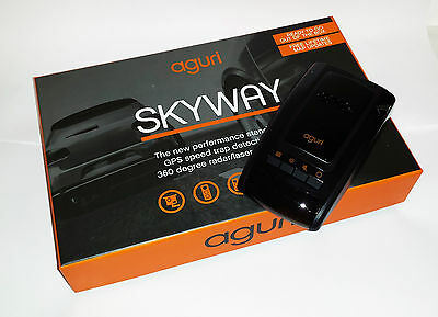 Aguri Skyway GTX50 GPS/Radar/Laser Speed Trap Detector Black Friday Special!