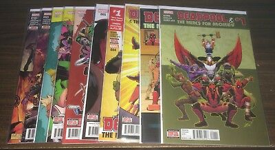 DEADPOOL & The Mercs For Money (Vol 2) -- #1 2 3 4 5 6 7 8 9 10 -- FULL Series