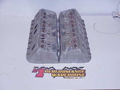 2 Brodix -08 Spreadport BARE 23° Aluminum Heads SB Chevy by Rons Porting Service