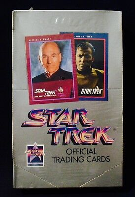 STAR TREK-25th Anniversary 1991 Impel-FACTORY SEALED Trading Card BOX-Series 1