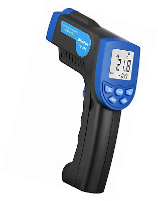 Non Contact Digital Laser IR Infrared Thermometer Accurate 30 - 320°C Blue Black