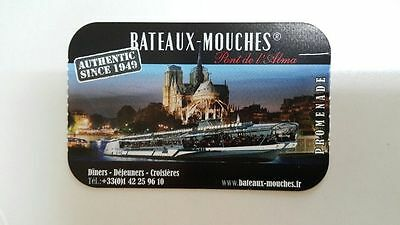 Set Of 2 Tickets Adults Boats Flies Paris - 1H Cruise On On The Seine