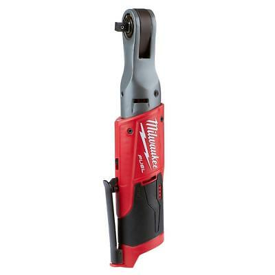 """Milwaukee M12 Ratchet(Tool Only),  1/4"""" 2556-20, 3/8"""" 2557-20, or 1/2"""" 2558-20"""