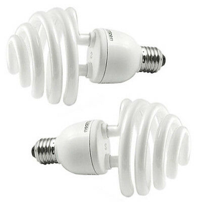 2x Daylight 35W (175W) 5500K E27 Umbrella Photo Studio Photography Bulb Lam T0O5
