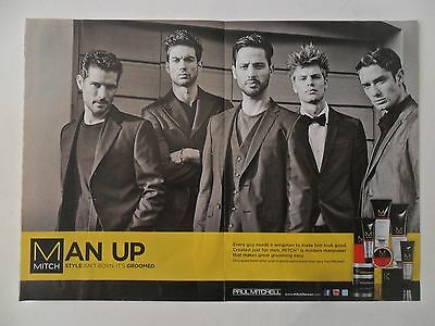 2011 Print Ad Paul Mitchell MITCH Hair Spray ~ Every Guy Needs a Wingman