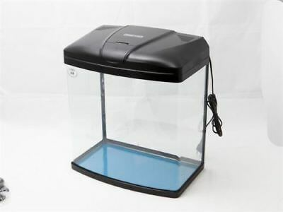 20L/35L/50L Aquarium Fish Tank Nano Coldwater Tropical LED Light Internal Filter