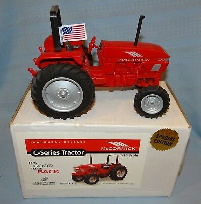 Ertl McCormick 1/16 C70 Tractor Die-Cast Farm Toy SpecEd Scale Models FB-2609