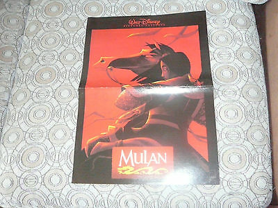 MULAN PIN UP POSTER PHOTO AFFICHE 11 x 16 CLIPPING