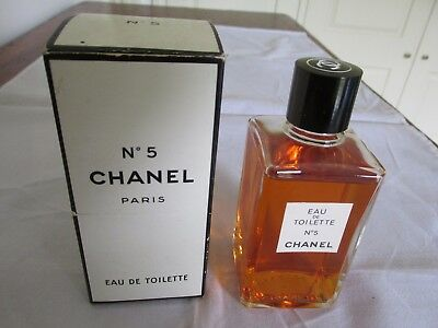 Vintage Chanel No 5 Eau de Toilette Perfume Paris in Original Box Never Used ?