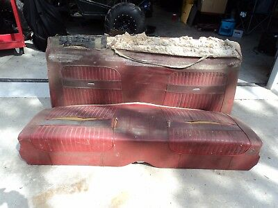 1960 1961 1962 1963 Ford Falcon 2 Door Rear Seat Oem