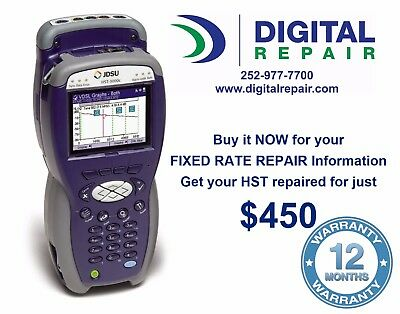 Email Information How to Repair Acterna/JDSU/Viavi HST-3000C or 3000 for $450