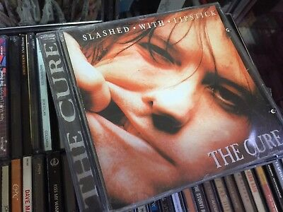 The Cure - Slashed With Lipstick RARE CD Album Robert Smith