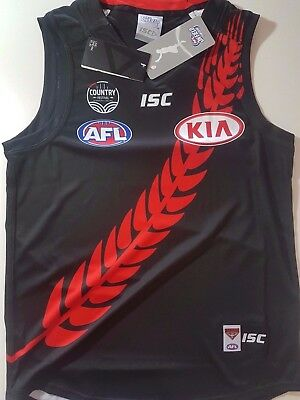 AFL ISC ESSENDON BOMBERS COUNTRY GUERNSEY Official On Field Gear Football Jersey