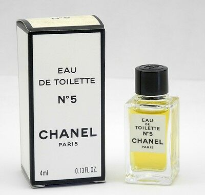 Chanel No.5 Eau de Toilette EDT 4 ml Neu & OVP
