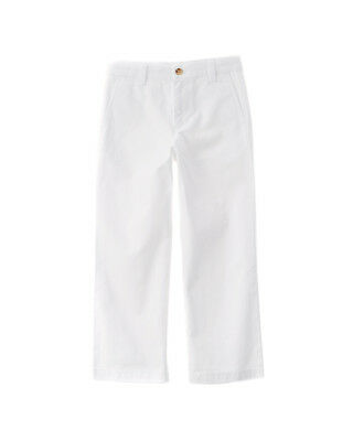 Vineyard Vines Boys' White Breaker Pant