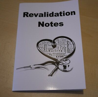 BUY 2 GET 1 FREE NMC Nursing Revalidation note book A5, Diary, Log Book