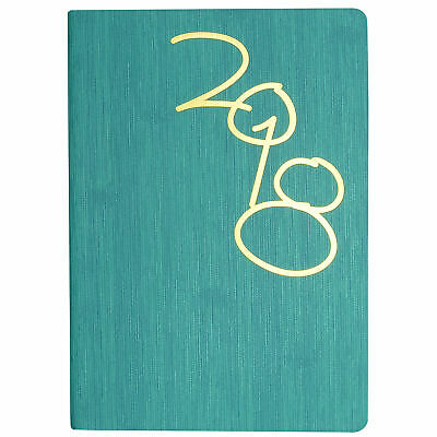 2018 Diary Cumberland Vogue A6 (155x115 mm) Day to Page, Mint (61SV)