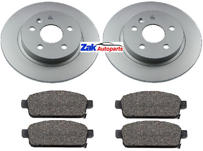Vauxhall Mokka All 2012 Drilled Grooved Front Brake Discs