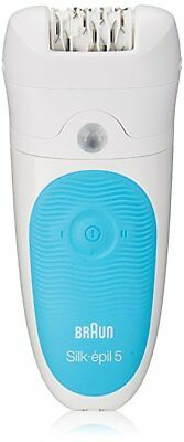 Braun Silk-epil 5 Epilator  Electric Hair Removal Cordless Wet Dry Legs Shaver