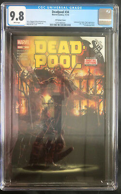 Marvel Deadpool #34 3D Lenticular Variant Cover Cgc 9.8