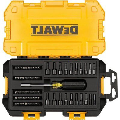 DEWALT Nut Driver Set 70 Piece Multi-Bit Box Power Tools SAE Metric Bits Garage