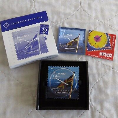 FINLAND ALAND ISLAND STAMP WATCH NUMBER 2 - boxed
