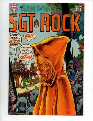 "Our Army at War #211 (Oct 1969, DC) VF/NM 9.0 ""SGT. ROCK; JOE KUBERT-C"""