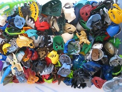 Lego Bionicle Hero Factory MASK LOT of 10 RANDOM PIECES from lot shown