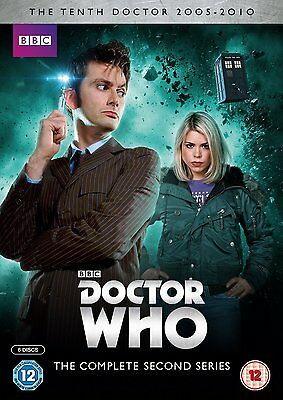 Doctor Who - Series 2  two 2nd complete season 2 complete two second 2nd Dr Who