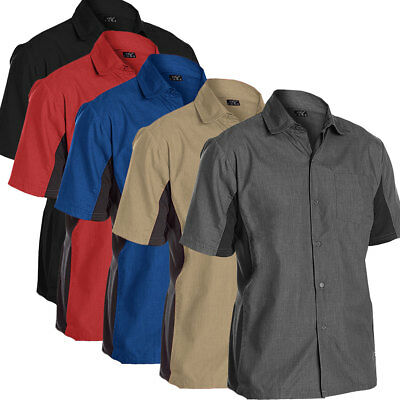 All Purpose Utility Work Shirt, Short Sleeve with Cool Vent Side Panels CC128
