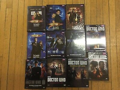 Doctor Who: Complete Series Season 1-10 Part 1 & 2 DVD Collection Set