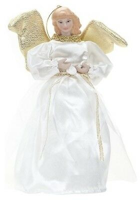 21cm Quality Angel Wings Tree Topper Gold Silver Decoration Christmas Nativity