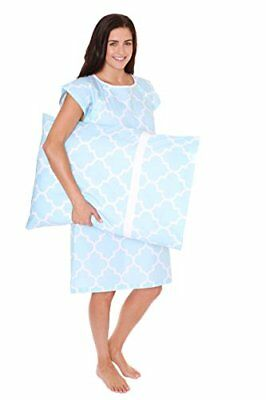 Gownies Labor and Delivery Hospital Gown Set Pillowcase Bag Must Have Best Baby
