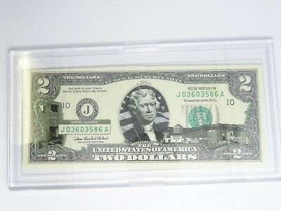 New Mexico 2003A $2 Two Dollar Bill  Federal Reserve Note Uncirculated
