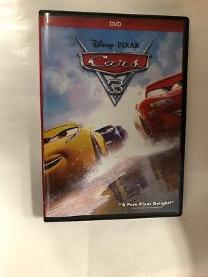 Cars  3 DVD ( 2017) Ship Now