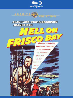 Hell On Frisco Bay [New Blu-ray] Manufactured On Demand, Subtitled, Amaray Cas