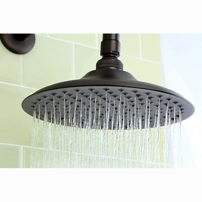 8 Inch Victorian Oil Rubbed Bronze Rain Shower Head Antique Bathroom Hardware