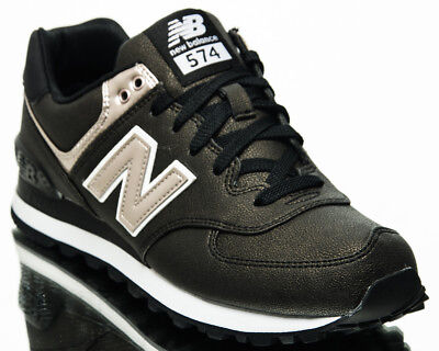 a5dff7eb18e NEW BALANCE WMNS 574 NB women lifestyle sneakers new brown gold black  WL574-SFH