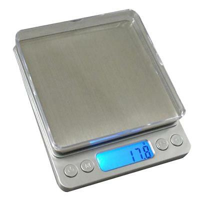 2000g/0.1g Electronic Digital Food Diet Balance Weight LCD Display Scales